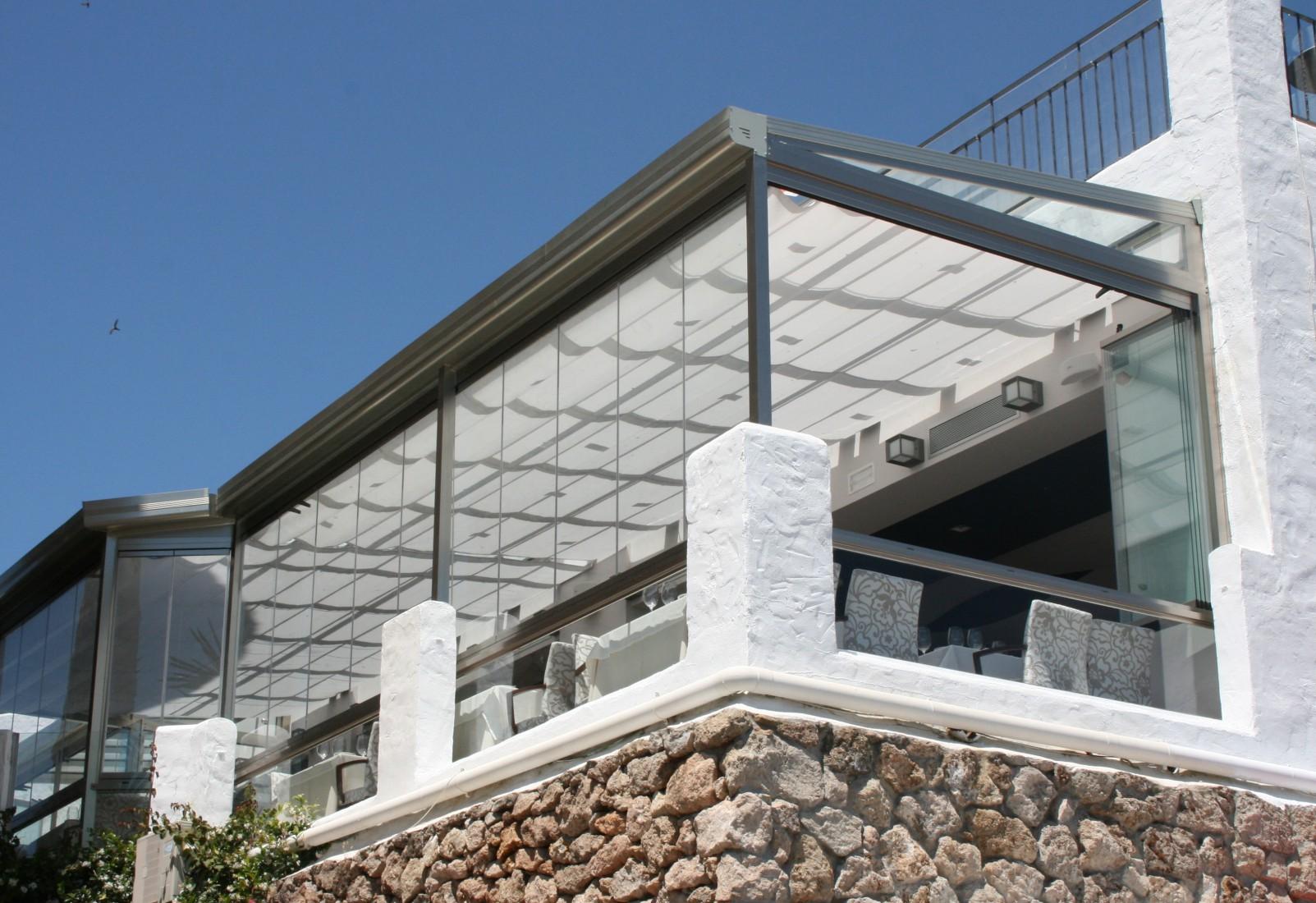 Mugica cierres de cristal cortinas de cristal donostia san sebastian gipuzkoa - Techos de vidrio para terrazas ...